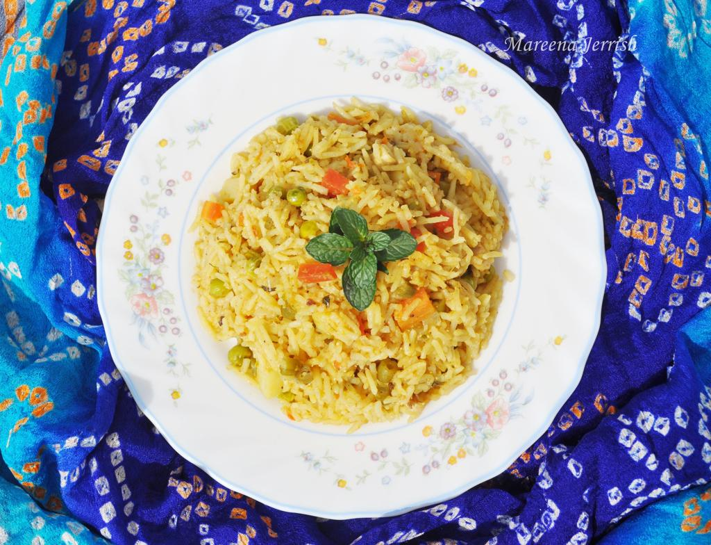 Vegetable Biryani Recipe Mareena S Recipe Collections