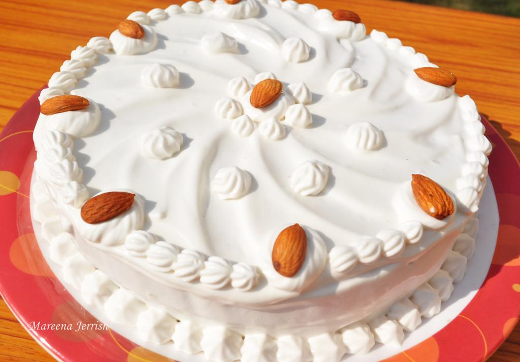 Stabilized Whipped Cream Icing Recipe Mareena s Recipe ...