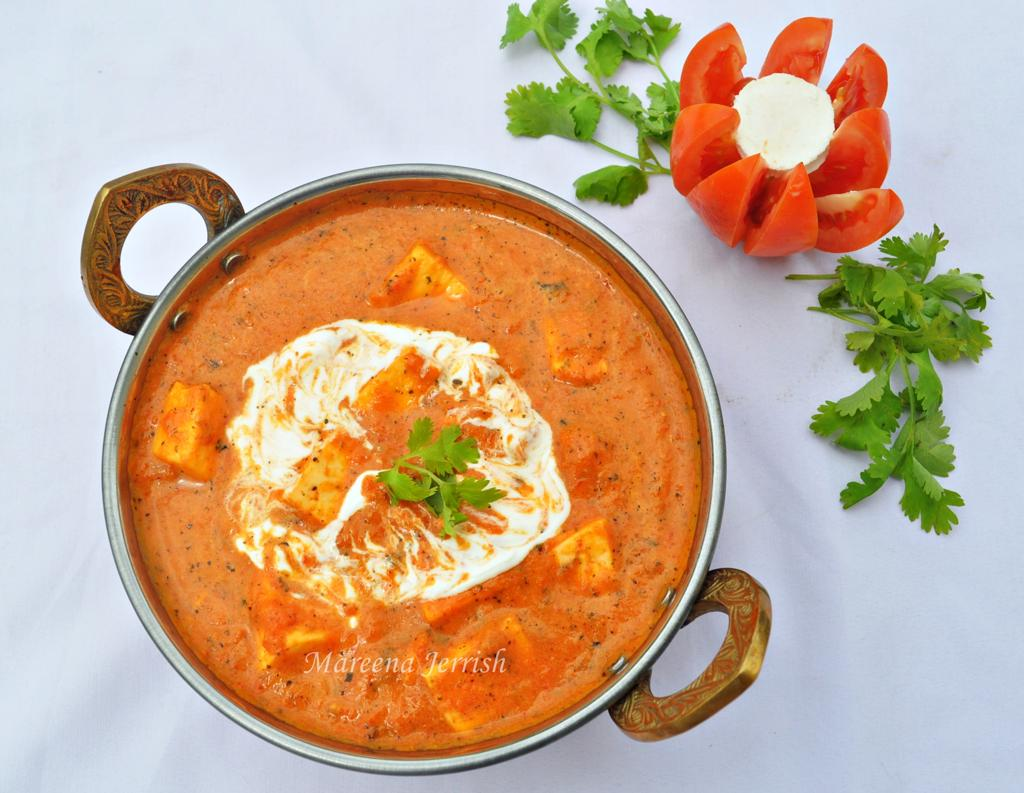 Paneer Makhani Butter Paneer Cottage Cheese In Butter