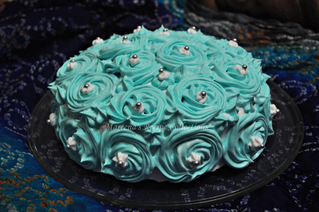 Vanilla Pound Cake With Whipped Cream Icing Recipe Mareena S Recipe Collections