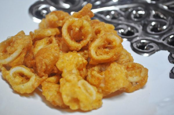 Squid Rings As A Starter