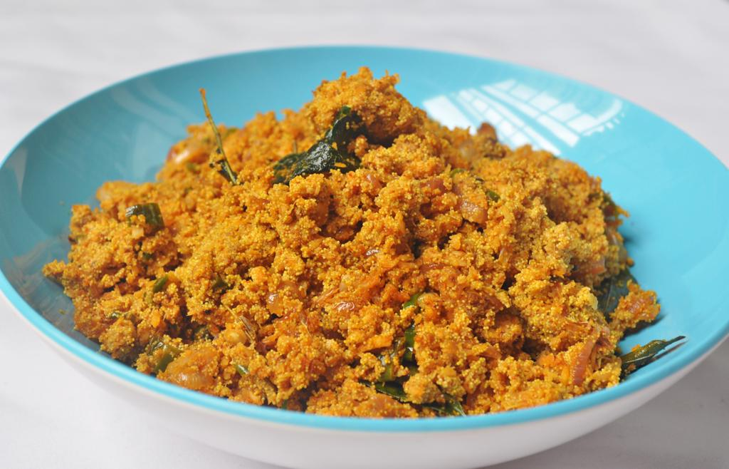 Meen Mutta Ularthiyathu Stir Fried Fish Roe Recipe